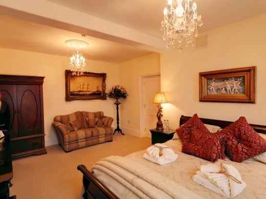 Rye 5 star Gold bed and breakfast Saltcote Place