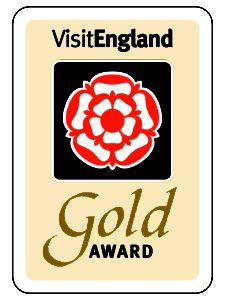 Visit England 5star gold award Saltcote Place Rye