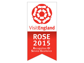 Saltcote Place Visit England Rose Award