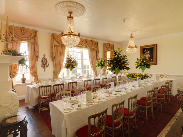 Intimate Wedding breakfast in Rye