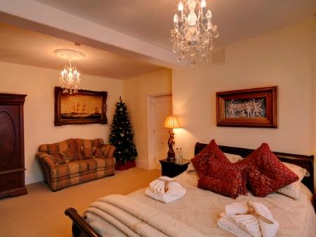Rye 5 star bed and breakfast Christmas