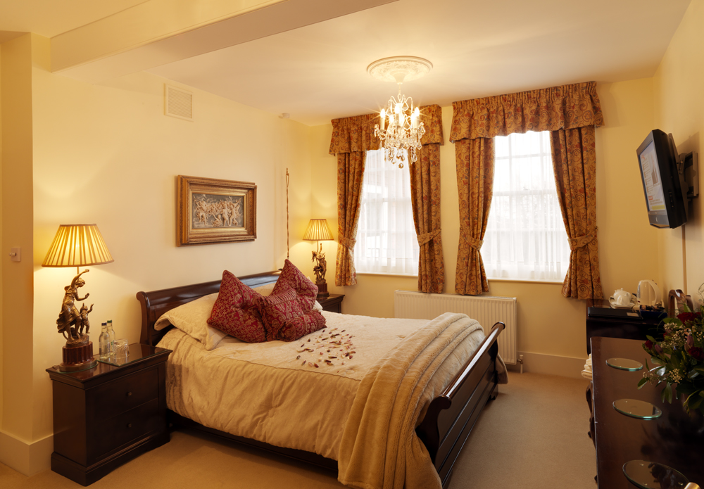 Royal Military Bedroom Saltcote Place Rye Bed and Breakfast