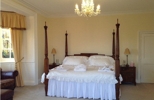 Rye Suite overlooks the rear garden with views toward Camber Sands and the English Channel
